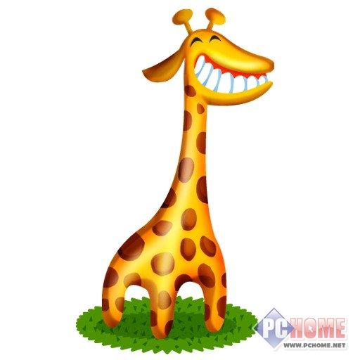 可爱卡通小动物图标
