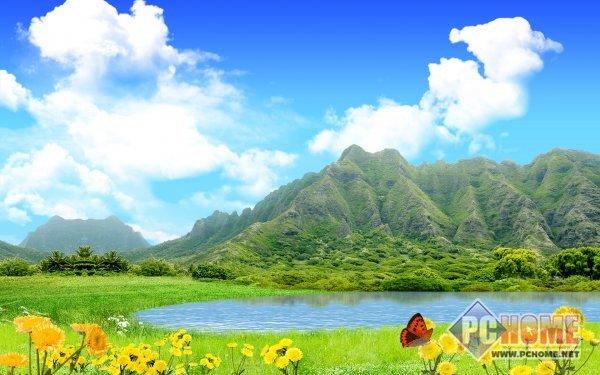 电脑ps设计自然风景桌面壁纸(三)