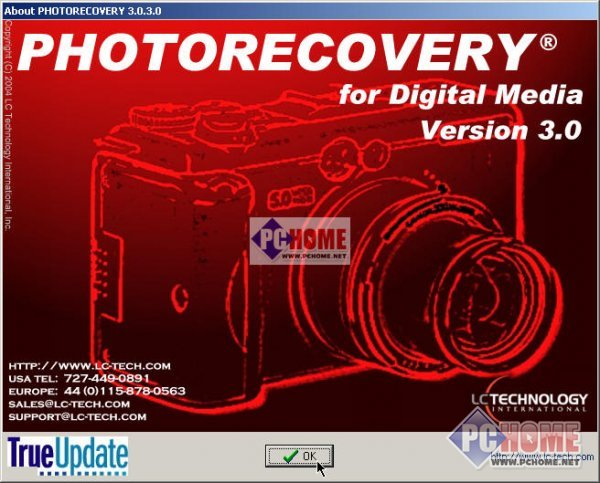 PhotoRecovery for Digital Media 5.1.7.0