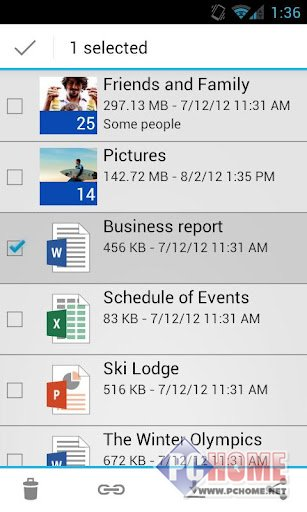 OneDrive(SkyDrive) for Android 5.21.1