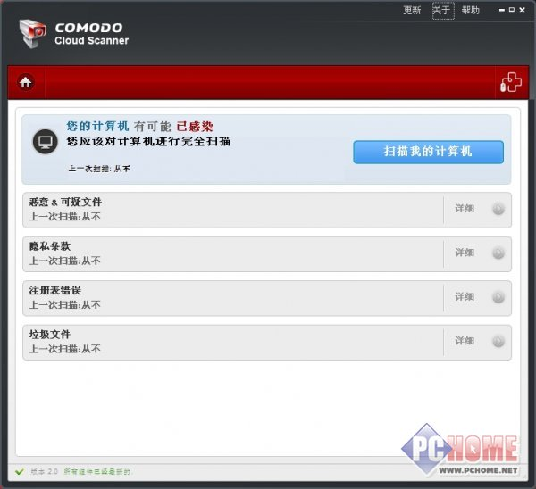 COMODO Cloud Scanner 2.0.162151.21